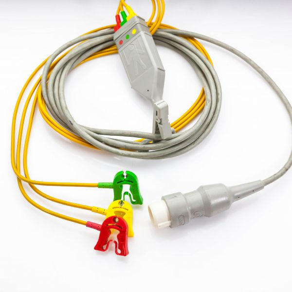 Kabel zbiorczy EKG 3 odprowadzenia Philips M1590A - Arestomed